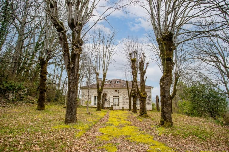 Stone house in the countryside