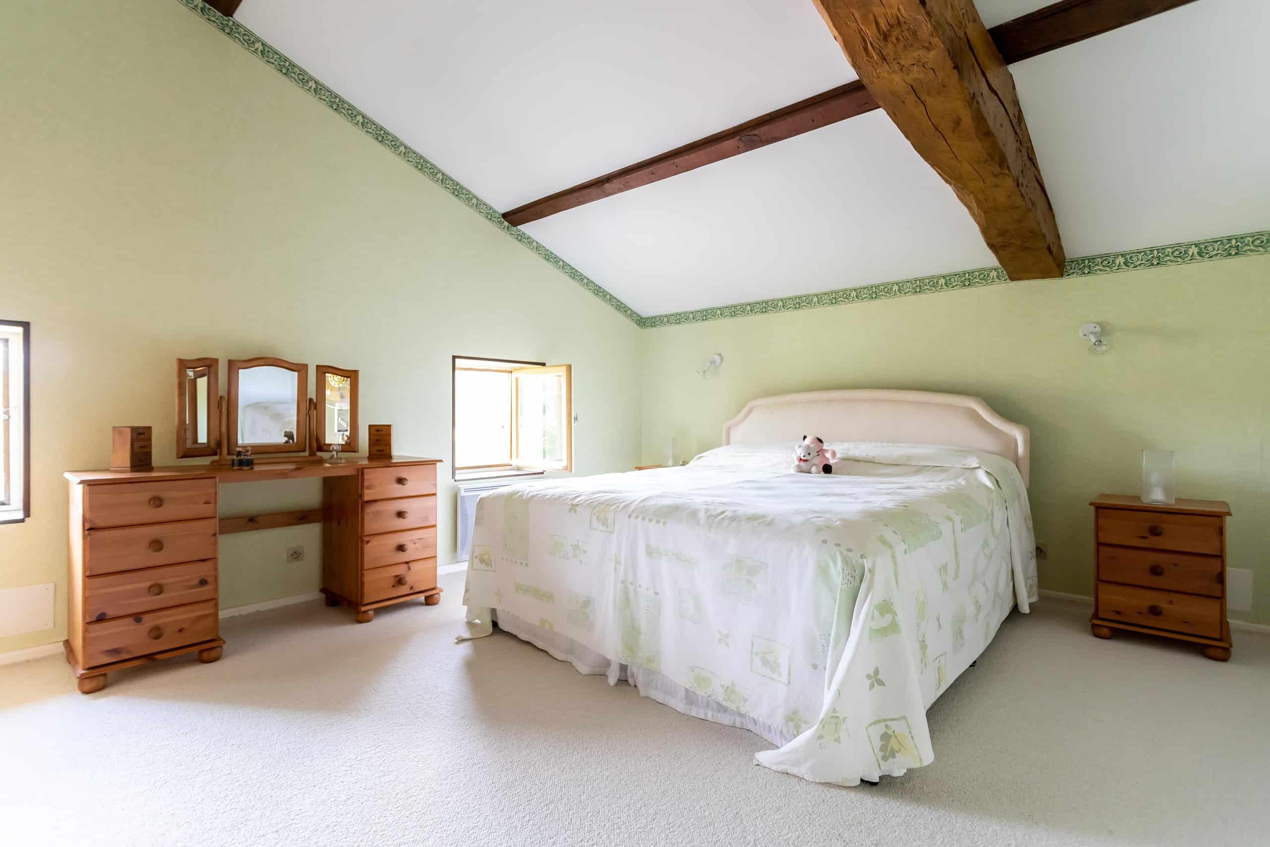Chambre à coucher-vert-WMC078
