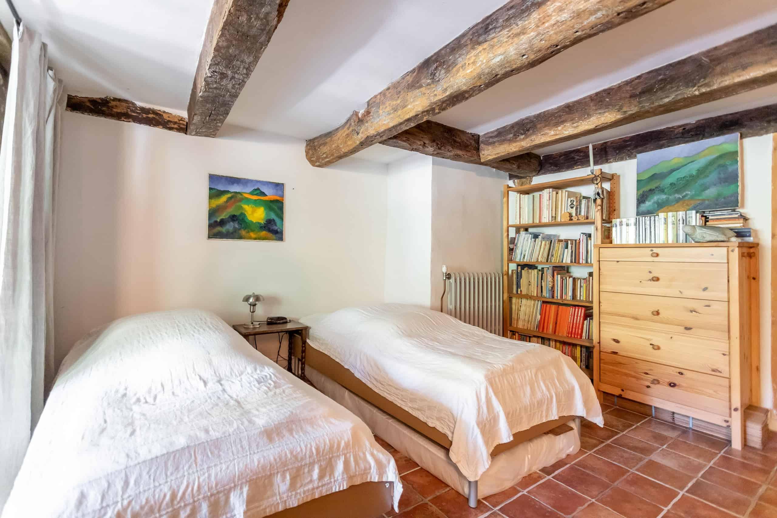 Chambre à coucher-lits jumeaux-WMC091