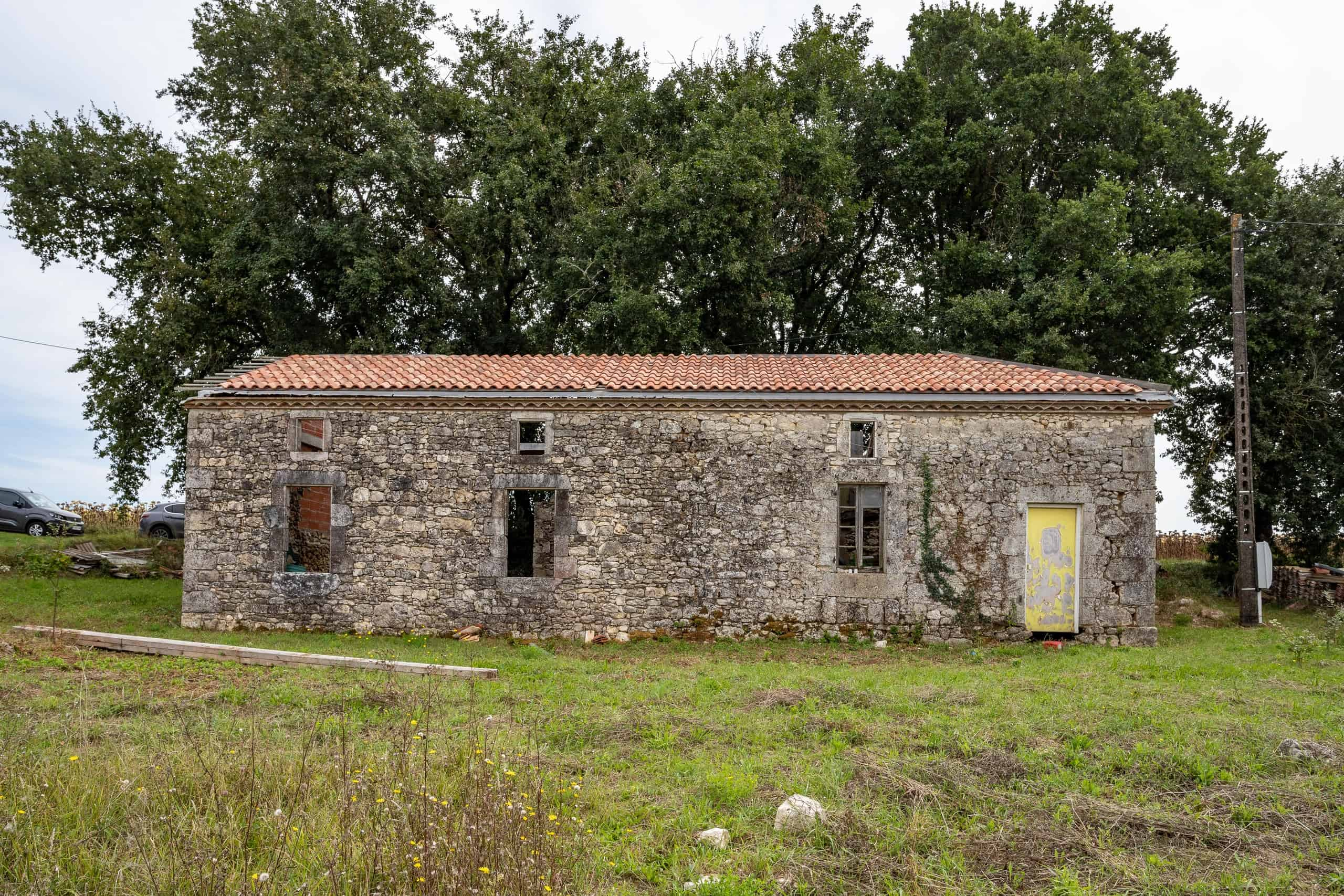 Renovation project in the country